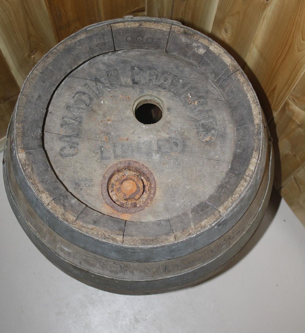 Barrel - Canadian Breweries Ltd_top