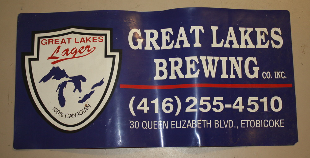 Sign - Great Lakes Brewery magnet 1993 (ON).JPG