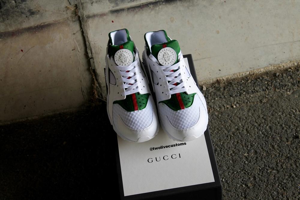 Huarache Bianche Gucci