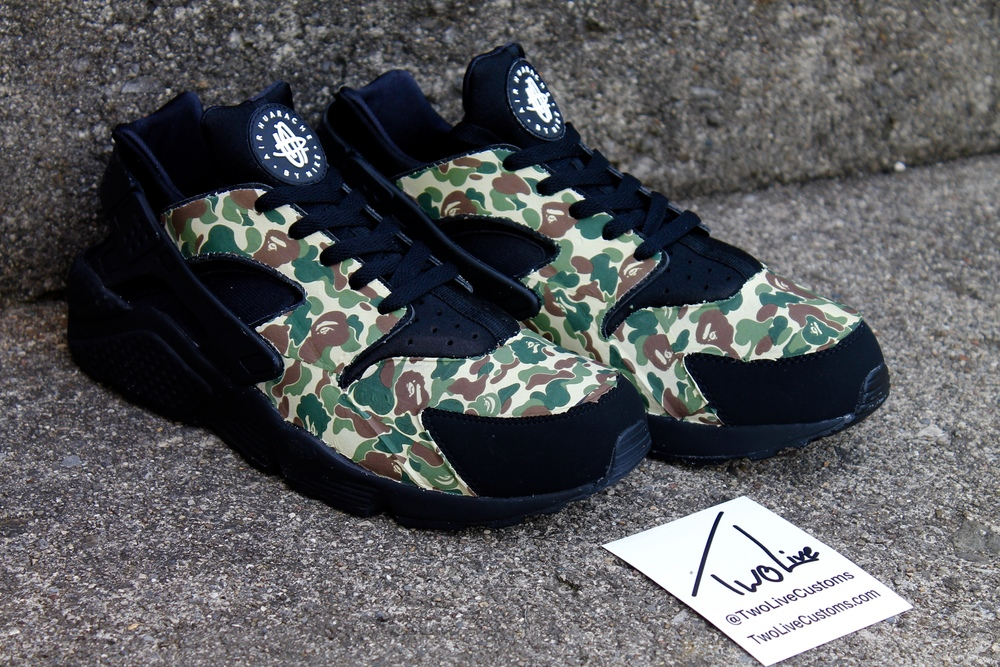 Nike Huarache Black Bape