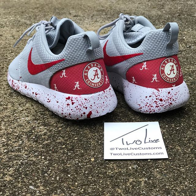 """A gameday must for Alabama fans. Check out twolivecustoms.com to view our whole college football collection! Use code """"TWOLIVE"""" to save $15 on your entire order"""