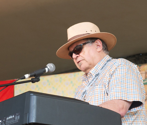 David Vest performing at Central Music Festival