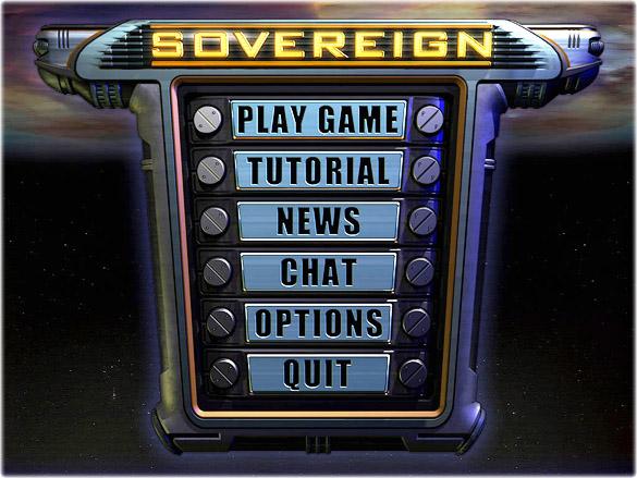 Sovereign Game Menu