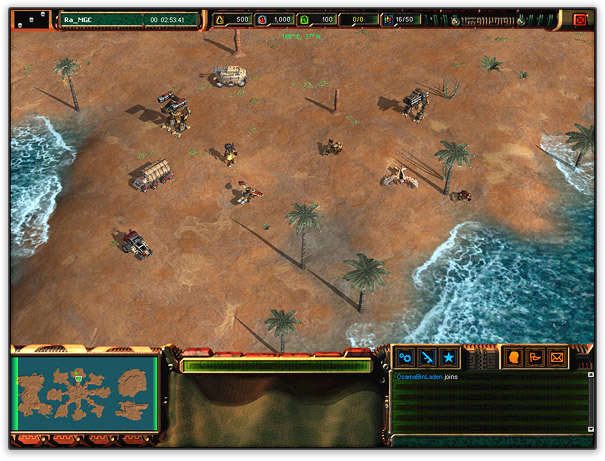 Raider Class Game UI