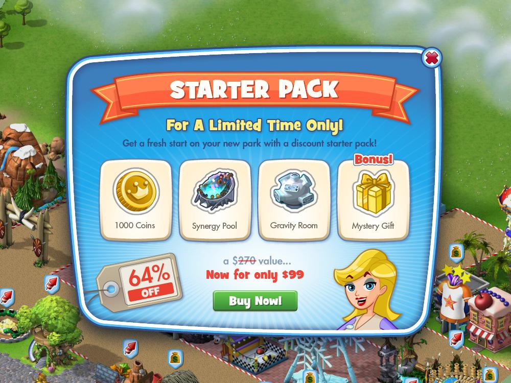 Starter Pack Promo UI