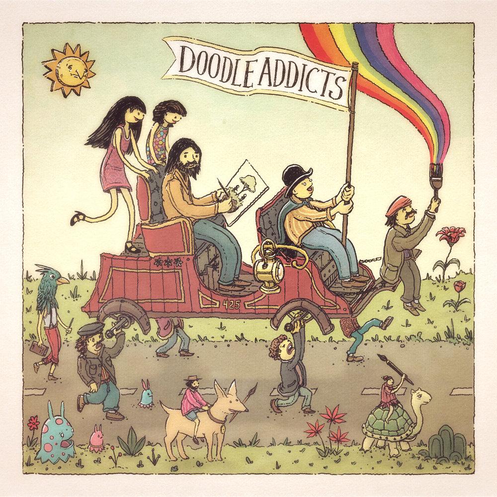 Doodle Addicts: Caravan