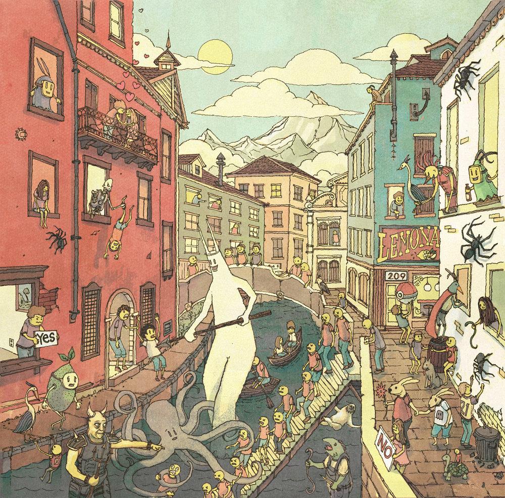 Dwellings Band CD Cover (Outside)