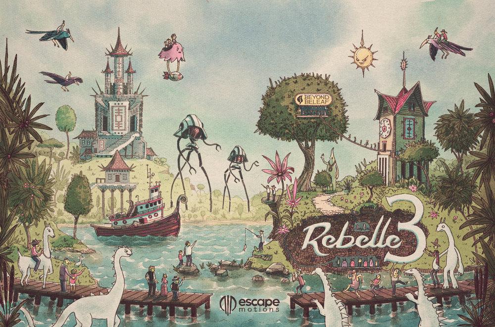 Rebelle 3 Illustration