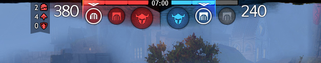 Stronghold Update - Smaller UI with larger Score Display
