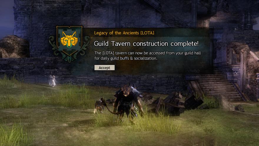 Guild Informative Popup