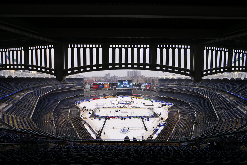 An overall view of the Stadium Series practice prior to the NJ Devils vs NY Rangers.jpg