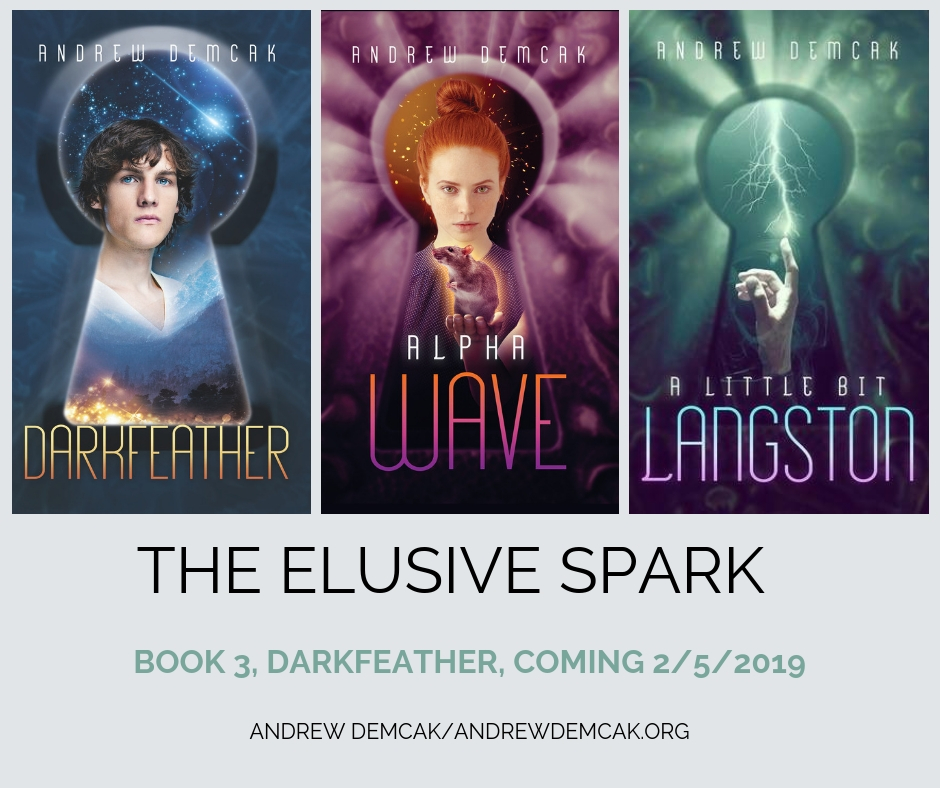 The series continues …  The Twelve Heroes,  Book 4 (final), The Elusive Spark is currently being written.