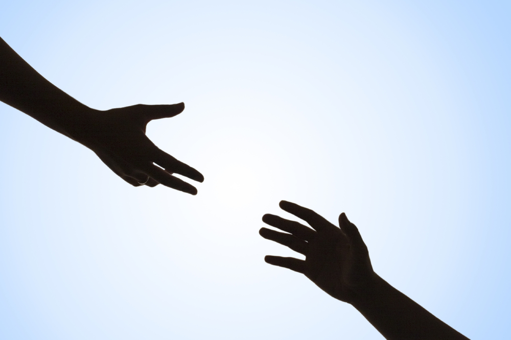 Tap into others' innate desire to help others