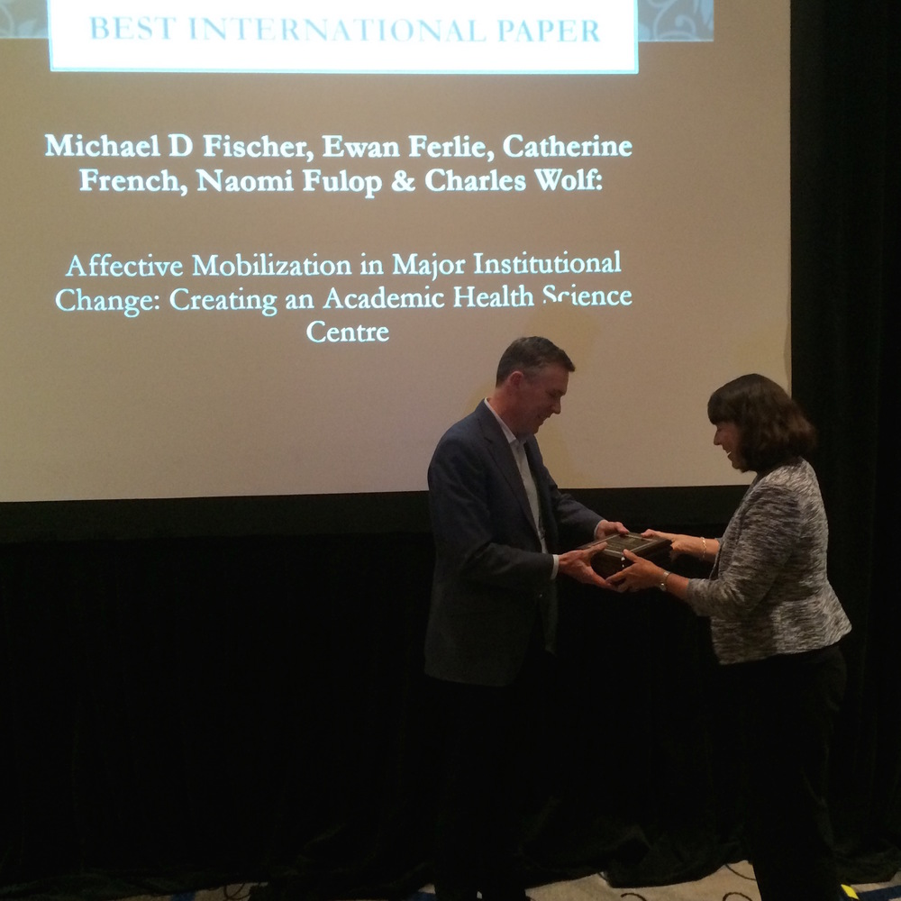 Best International Paper Award