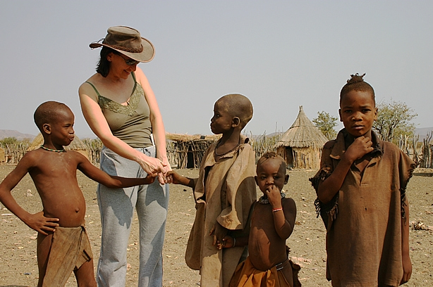 Visiting a village in Namibia - Carrie Hampton.JPG