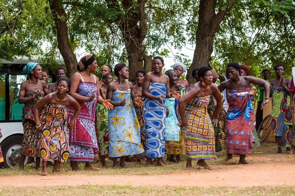 Togolese Women Dancing