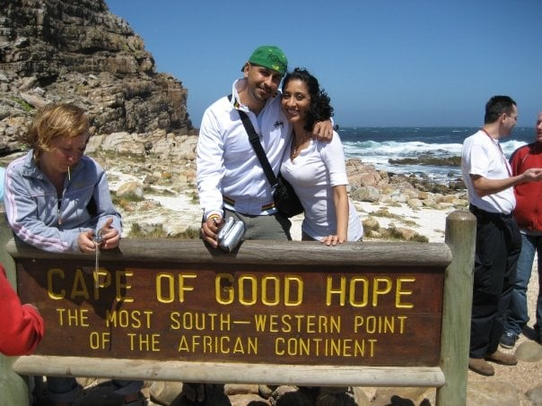 A pic of myself, Saurabh Khetrapal, and my gorgeous wife, Dr. Kavita Gajjar, whilst visiting South Africa.