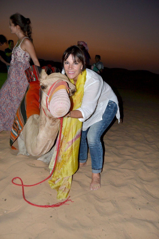 Gabi Camel Desert.JPG