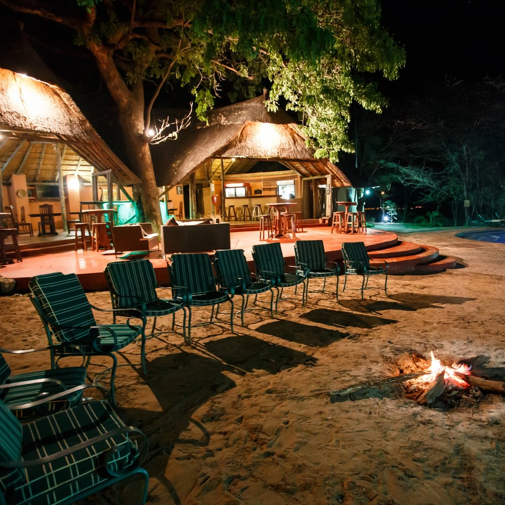 Luxury Lodge - common area at night.jpg