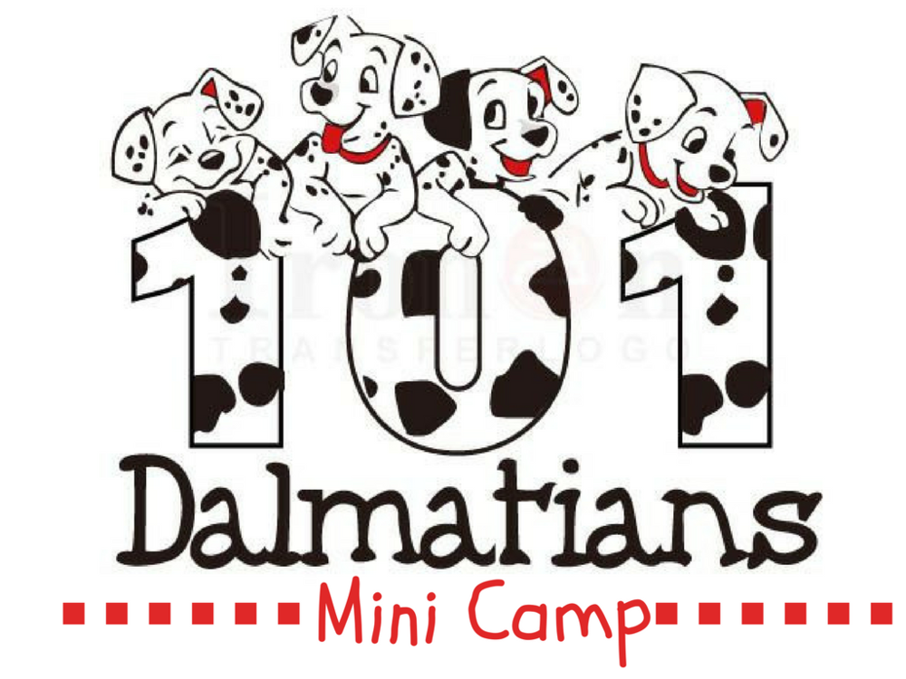 Avoid the dog days of summer and join in the fun with 101 Dalmatians mini camp!  This camp is designed for younger student who are new to theatre.  This is the perfect camp to get your feet wet as a budding actor.  We will be learning music and choreography from the Disney musical, 101 Dalmations!
