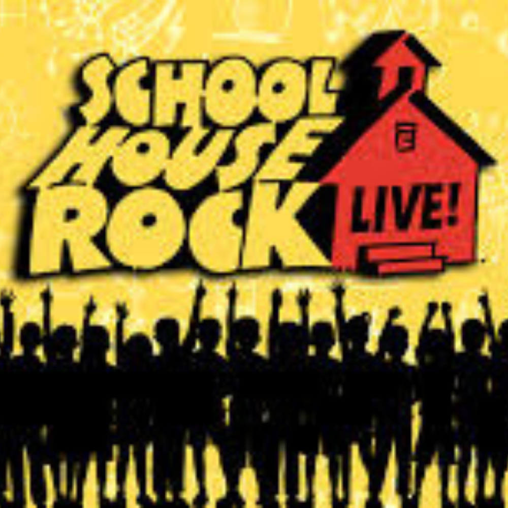 School House Rock Mini Camp   Tuition:  $135   Aug. 5th-9th   9:00 a.m.- 12:00 p.m.   ages  5-8   Description  Get ready to go Back to School with this infectious musica review! An audience favorite from this year's TYA program! High energy choreography, catchy music, and a fun story line makes this musical the best way to kick off the new school year!