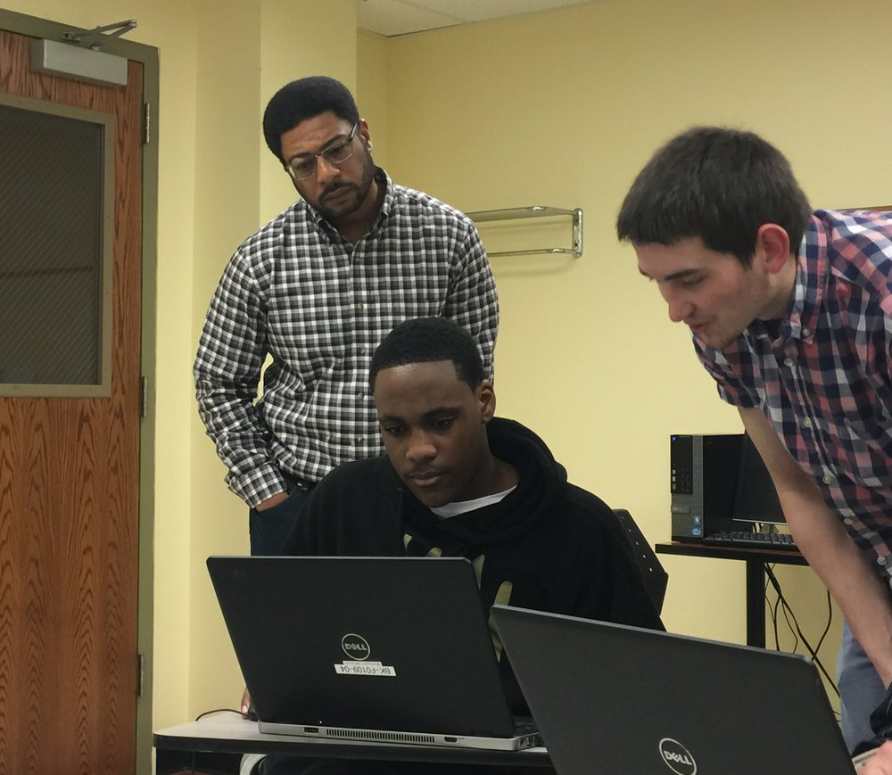 A future college graduate in Reading, Pennsylvania utilizing PerceptEngine's remote capabilities to operate multiple 3D-Printers at our State College office to further understand how to meet customer production needs.