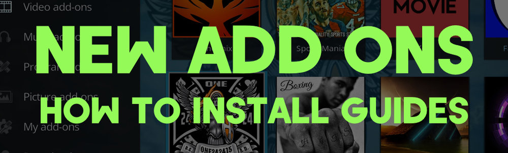 CLICK HERE FOR THE LATEST ADD ONS WITH INSTALL GUIDES