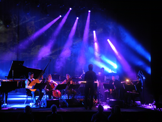 Ensemble neoN at Molde International Jazz Festival 2014, with Susanna.