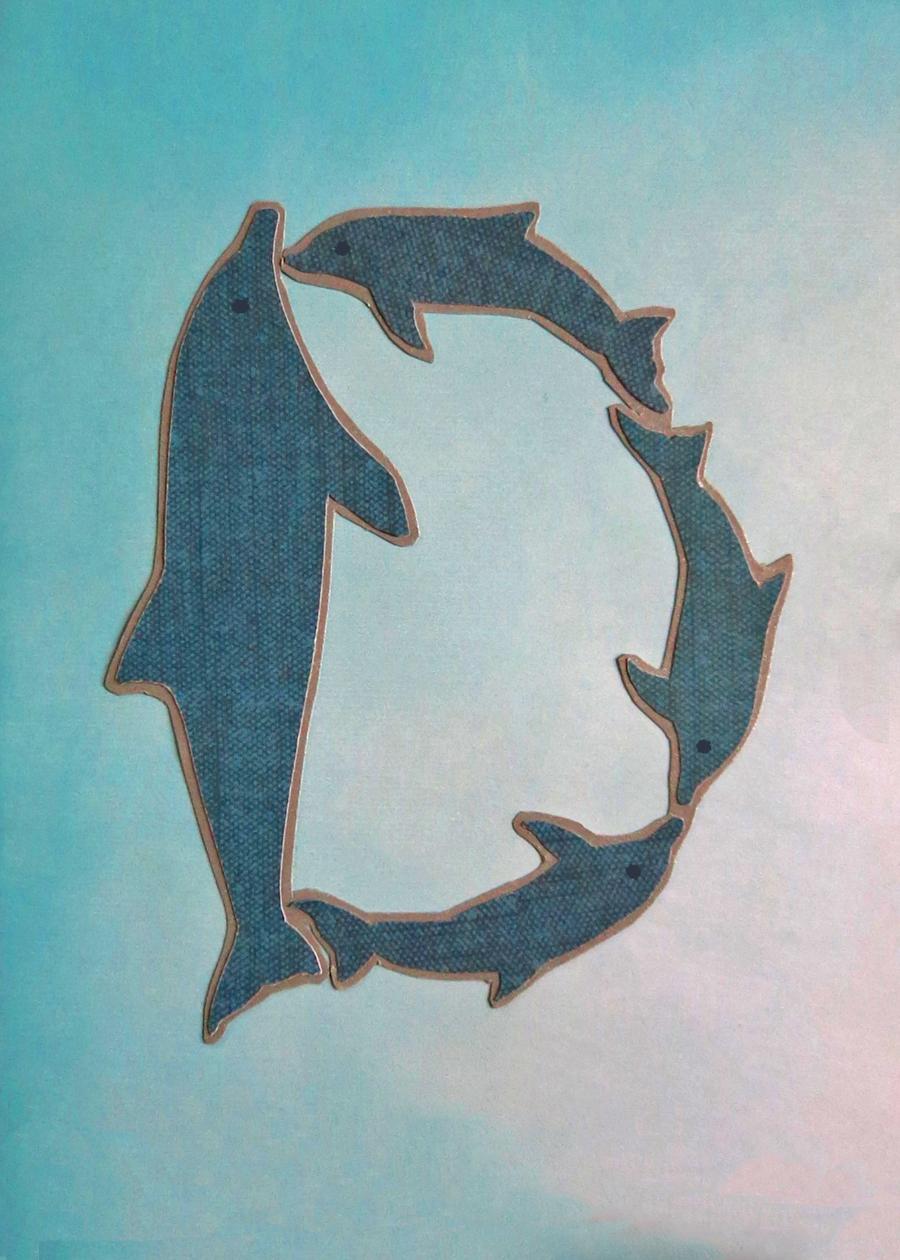 Letter D Dophins