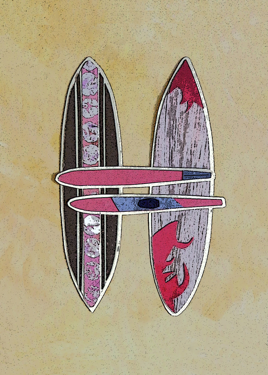 Letter H Surfboards