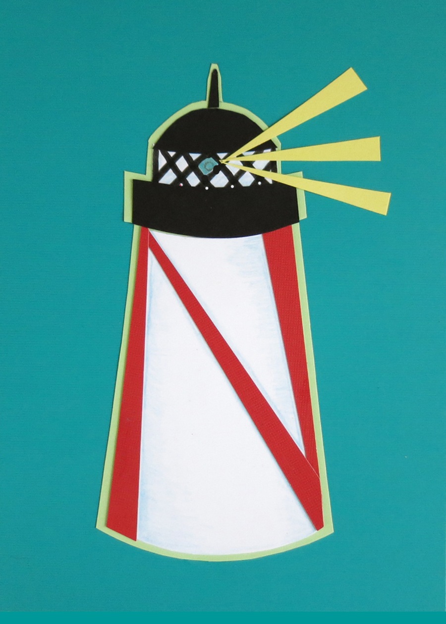 Letter N Lighthouse