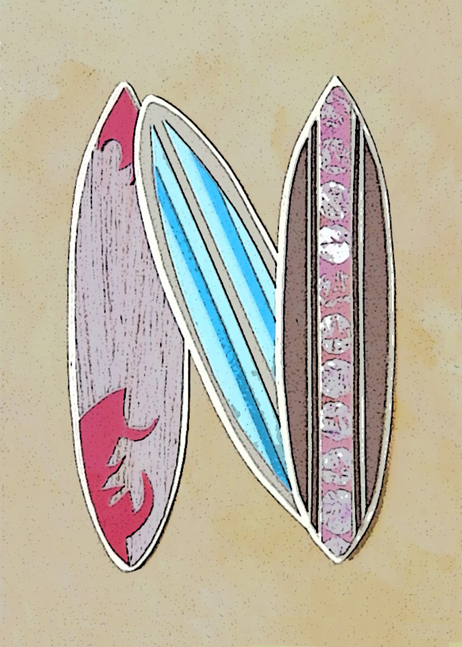 Letter N Surfboards