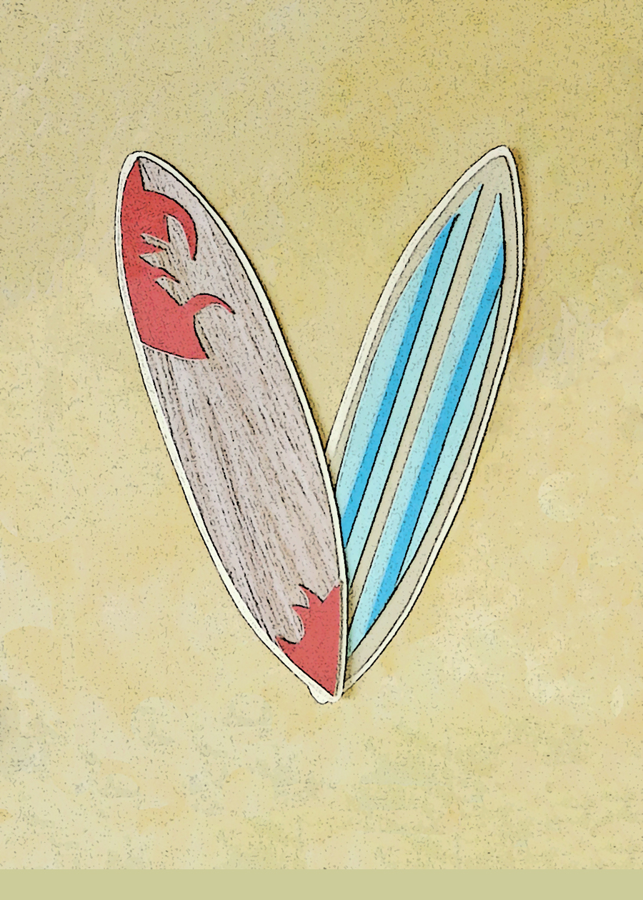 Letter V Surfboards