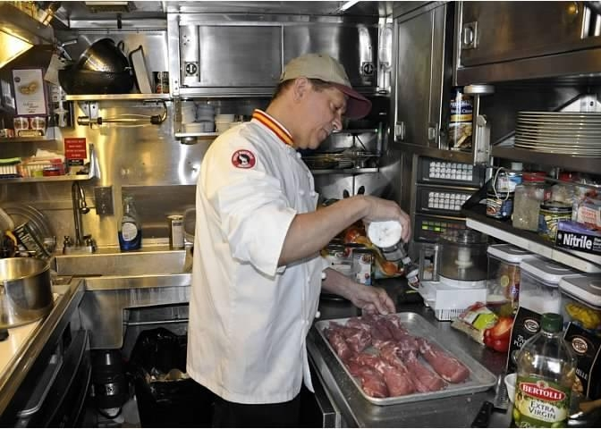 Michael M. Slay: Rail Chef Extraordinaire     May 20, 1957-August 14, 2015  pHoto:  ROGER SCHMORR