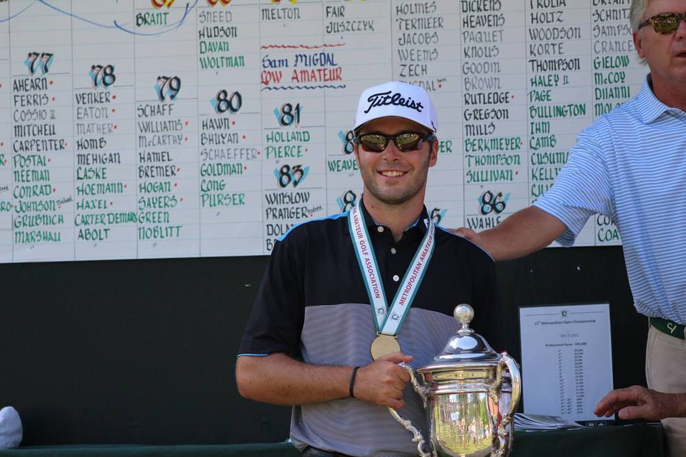 Dan Woltman captures the 11th Open Championship title (2016) by one shot with a 204 (-6) 54 hole score