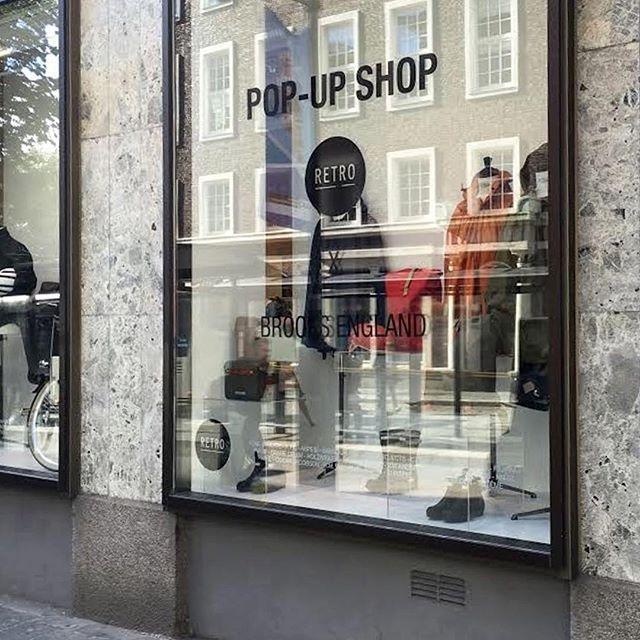 I anledning sykkel-VM i Bergen har @BrooksEngland en pop-up shop hos @Retrobutikkene. Ta turen innom hvis du er i nærheten ✌️🚴♀️🚴👍 #Brooks #BrooksEngland #sykkelvm2017 #sykkelvmbergen2017 #sykkelvmbergen #uci #roadworldchampionships #2017roadworldchampionships #uciroadworldchampionships