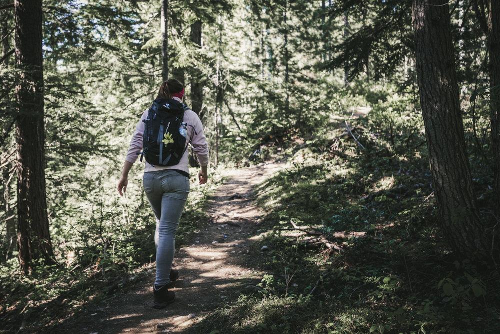 Erste Wanderung