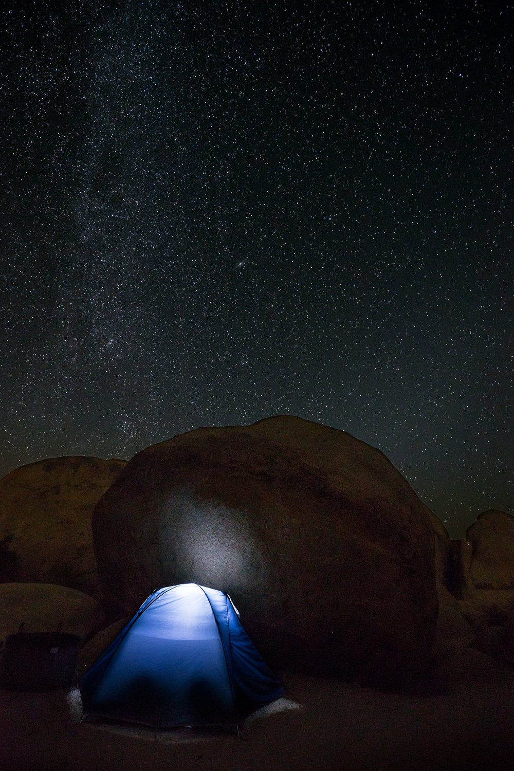 Campground im Joshua Tree NP