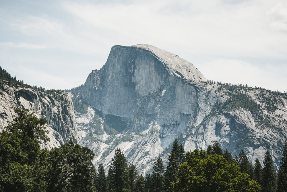 The famous Half Dome