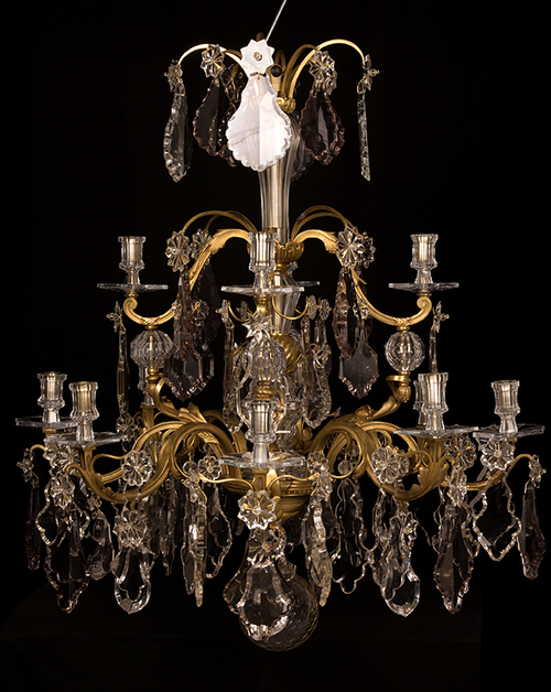 19th century rococo style chandelier 1880 mestrom chandeliers img2978g mozeypictures Gallery