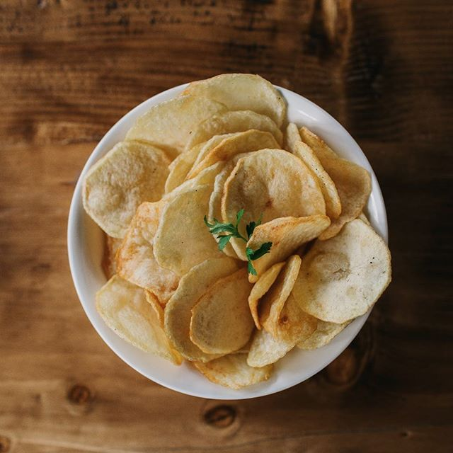 #Potato #chips good with or without dips. On a date? Or a friends running late? Don't wait, order a plate (or a bowl). #addisababa #treats