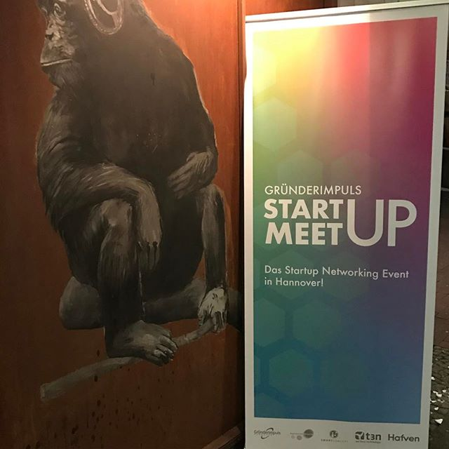 Startup Meetup @ Monkey's beginning #weclash #cebit