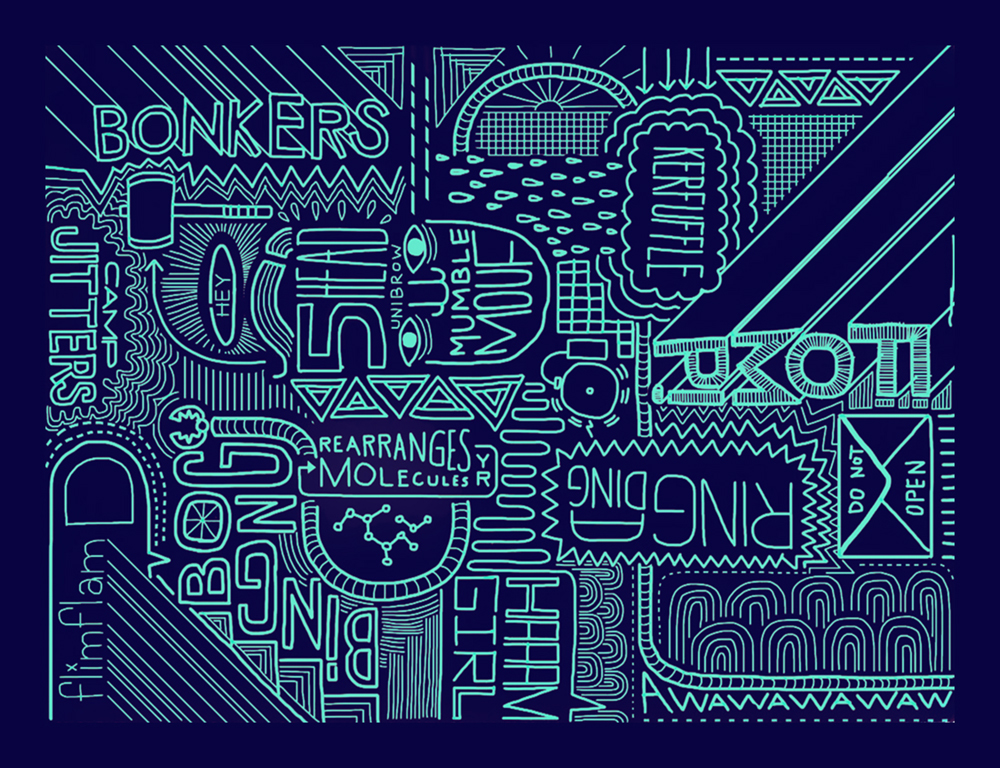 Digital Drawing: Bonkers