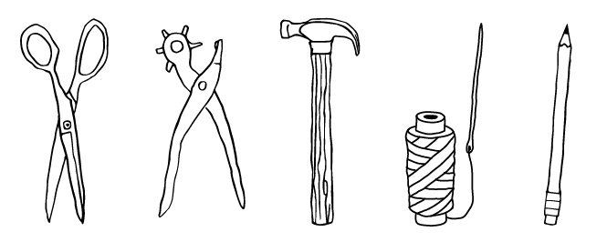 """Tools of the Trade"" illustration"