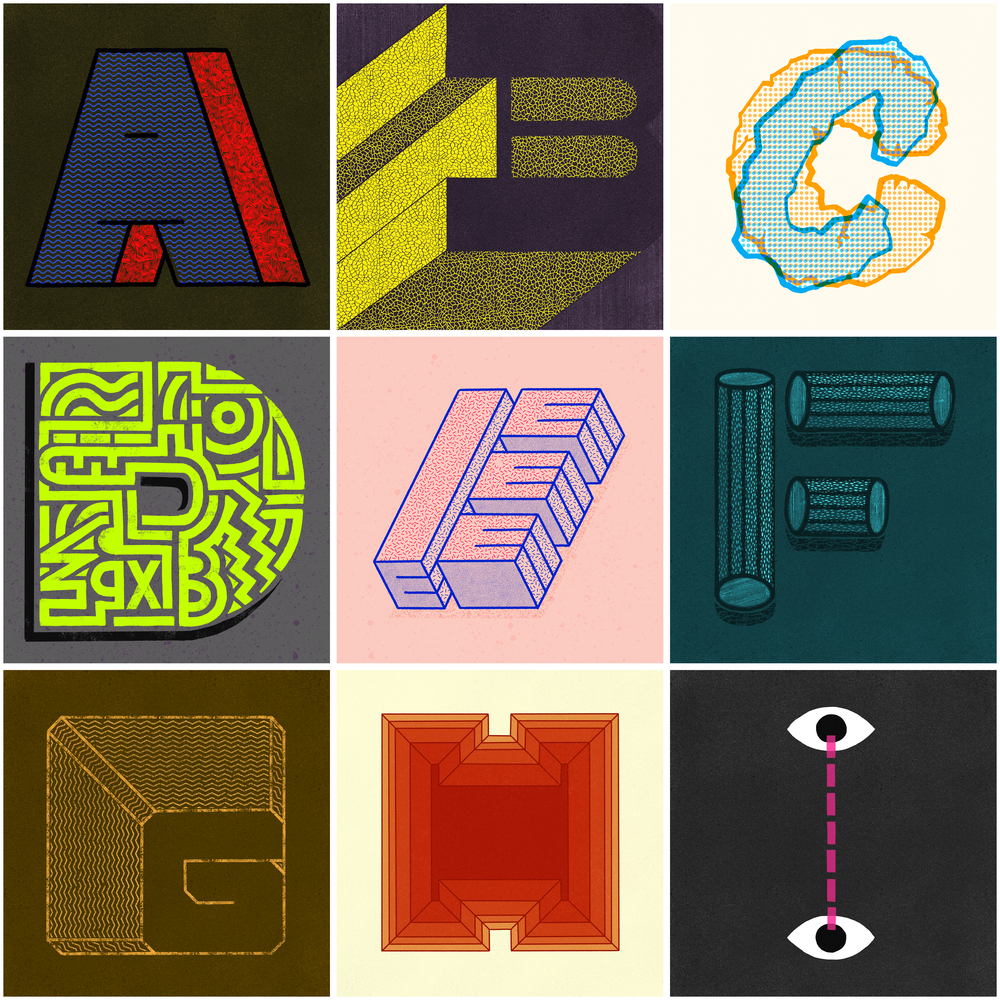 36 Days of Type, 2018