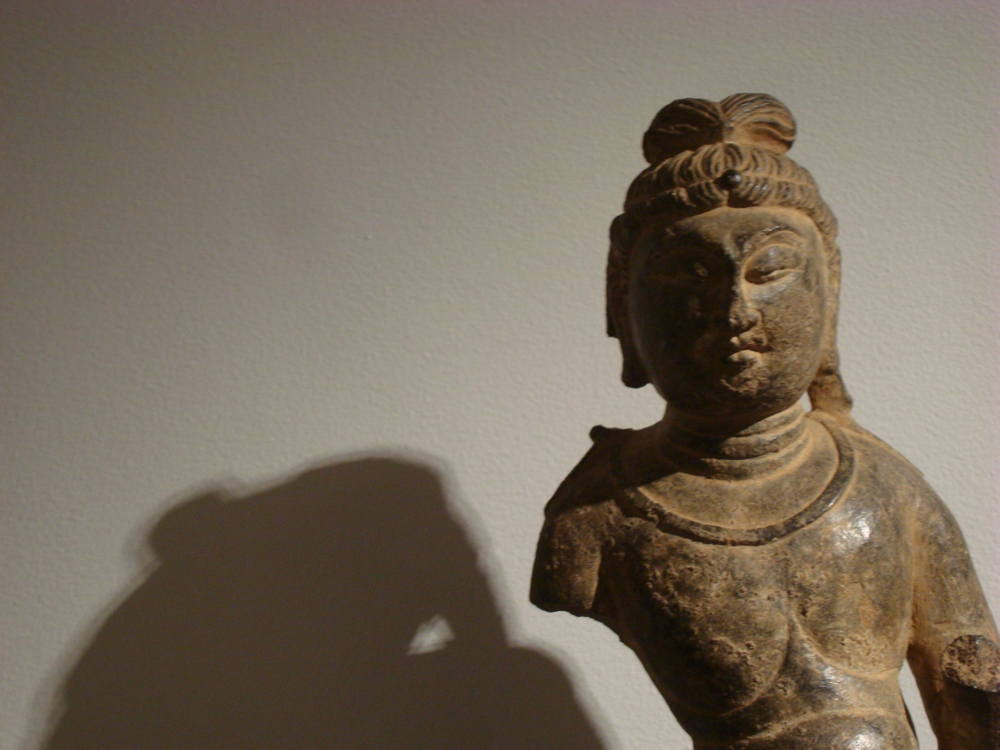 Grey Limestone Figure of a Standing Bodhisattva, China, Tang Dynasty (AD 618-907). Lot 758, Sale 11421. Christie's, Rockefeller Center, NYC. March 20, 2015 Provenance C.T. Loo and Co. New York, 1941. The Collection of Robert H. Ellsworth, New York before 1984.