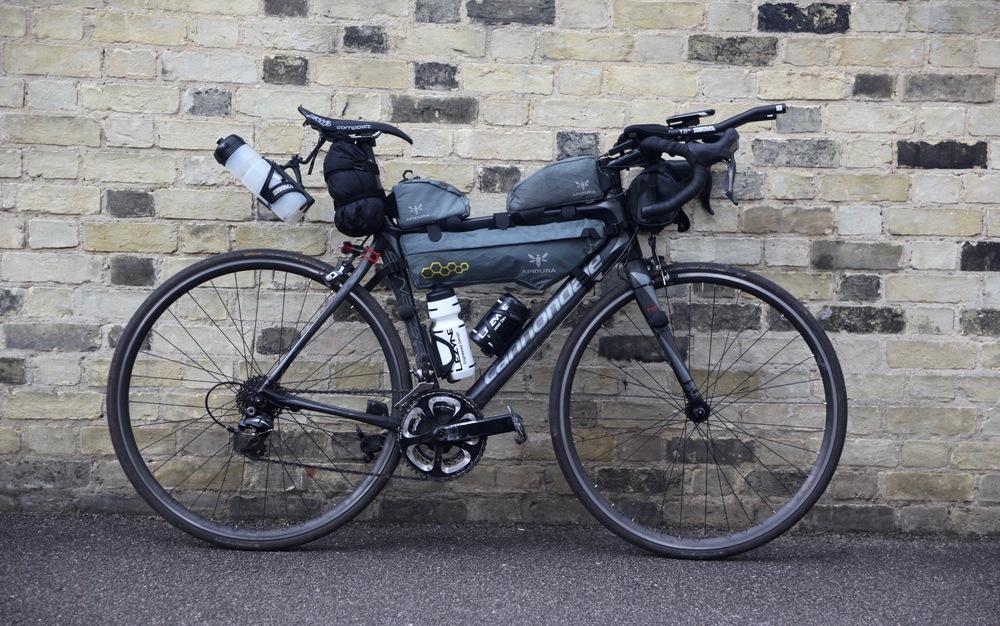 Bike Done Transcontinental Joe