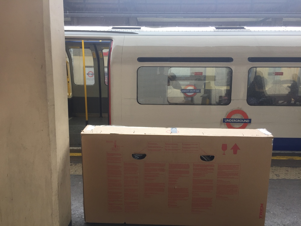 Bike box on the tube