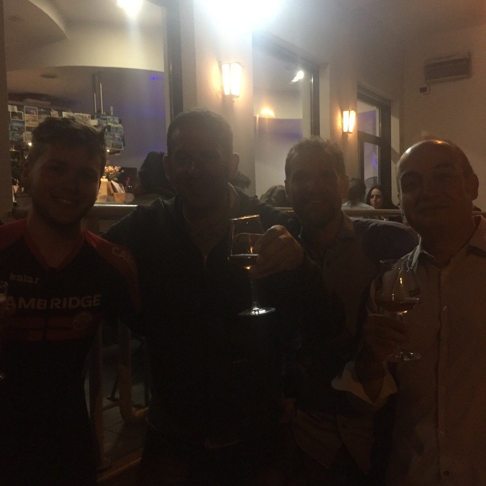The Italians who bought me some beers