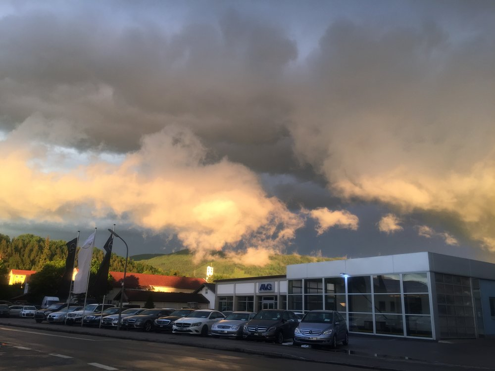 Cool clouds in Germany after the crap weather